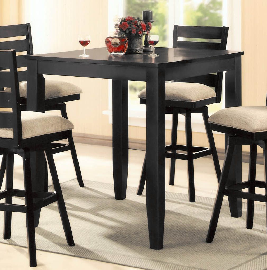 Merveilleux Wood Pub Table Sets Canterbury Jeffie 40 Inch Square