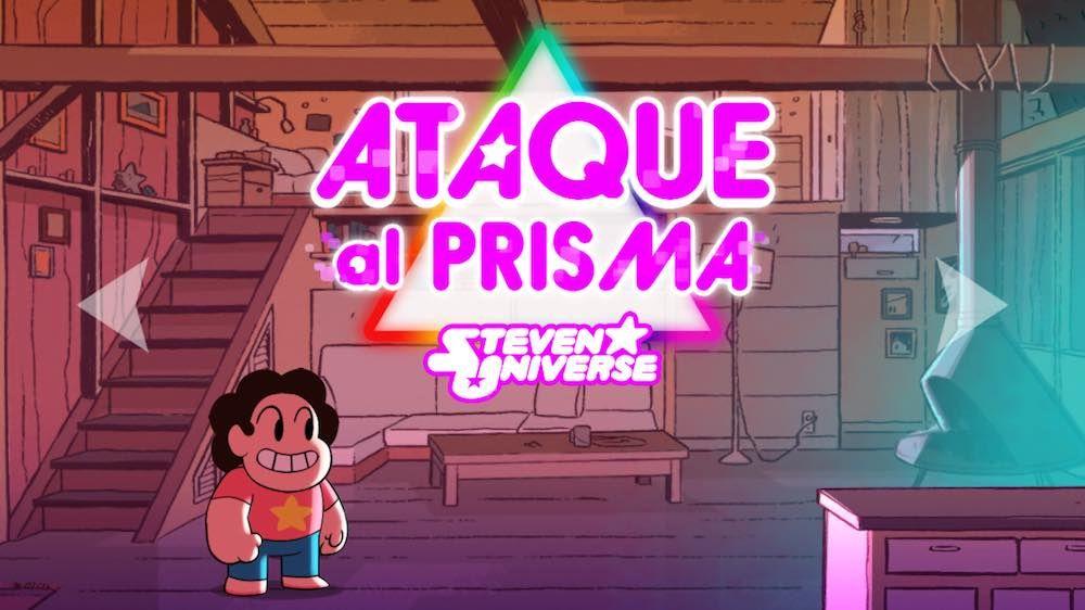 Ataque Al Prisma De Steven Universe Es La App Gratis De La Semana Steven Universe Steven Prismas
