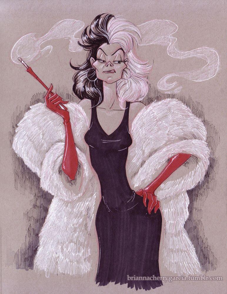 Cruella by briannacherrygarcia on @DeviantArt /My Queen