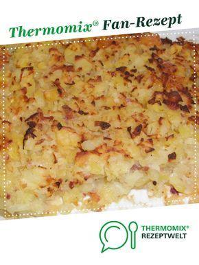 Ofenrösti mit Bacon und Zwiebeln von Cermix. Ein Thermomix ® Rezept aus der Kategorie sonstige Hauptgerichte auf www.rezeptwelt.de, der Thermomix ® Community.