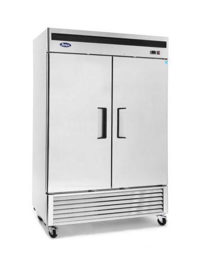 Atosa Mbf8503 Bottom Mount 2 Two Door Freezer Erisequip Adjustable Shelving Tall Cabinet Storage Locker Storage