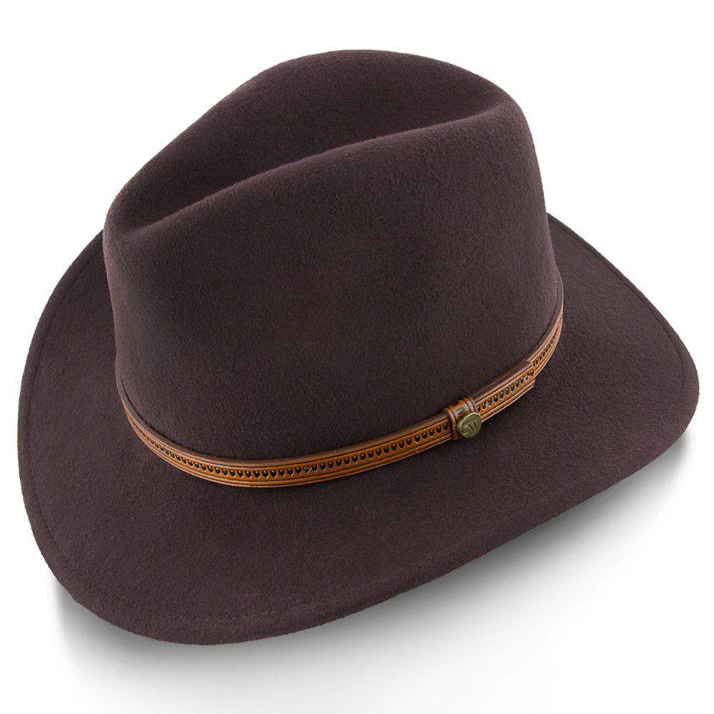 Capital - Walrus Hats Wool Felt Fedora - H7000  fe800d9de043