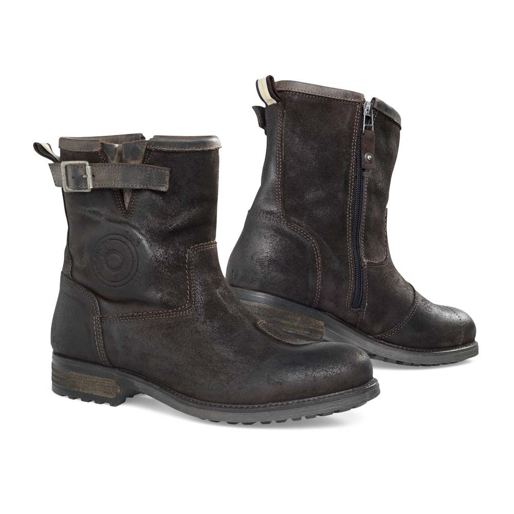 REV'IT Bleeker Boots - Brown | Motorcycle Boots | FREE UK delivery ...