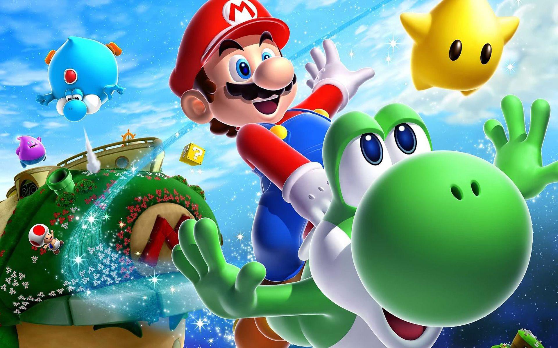 Find Out: Super Mario Galaxy Wallpaper On Http://hdpicorner.com/