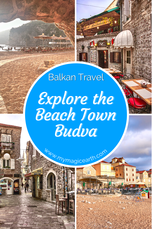 Budva on the Montenegro's Riviera