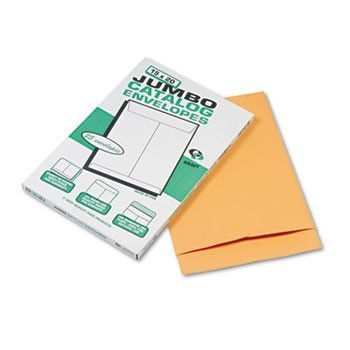 Jumbo Size Kraft Envelope, 15 X 20, Brown Kraft, 25/pack