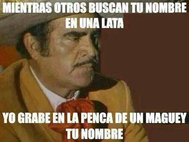 #Frase de Vicente Fernández