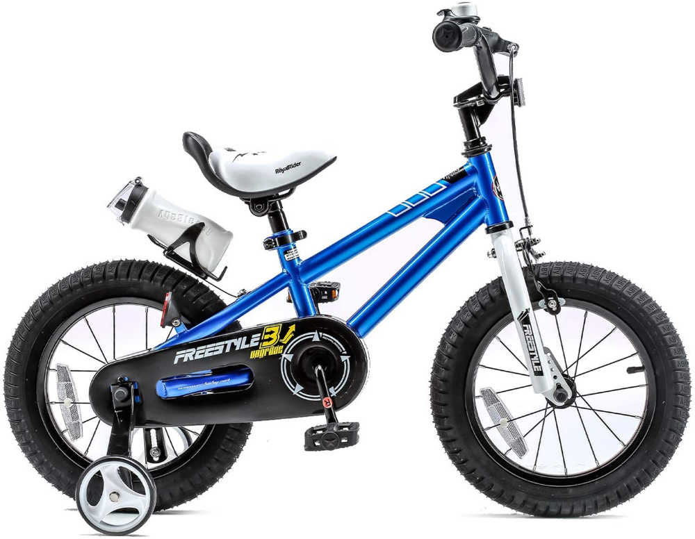 Amazon Com Royalbaby Kids Bike Boys Girls Freestyle Bmx Bicycle With Training Wheels Kickstand Gifts For Childre In 2020 Bike With Training Wheels Kids Bike Boy Bike