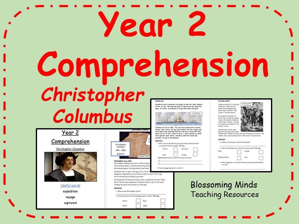 Ks1 sats comprehension christopher columbus history satact ks1 sats comprehension christopher columbus history ibookread Read Online