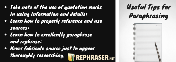 On Thi Site You Can Get Rephrasing South Africa Tip Which Will Make Your Paraphrasing Better See More Ti Use Of Quotation Mark How To Paper Paraphrase Website
