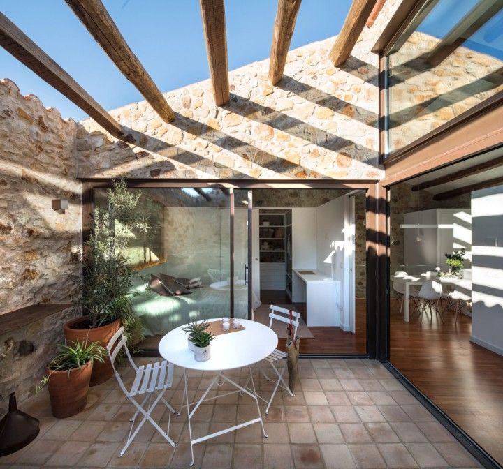 vacaciones en el pueblo reformas casas rurarles muros de piedra ...
