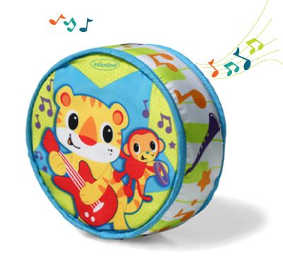 Tap & Roll Musical Drum