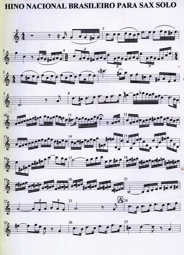 partituras para sax alto gospel