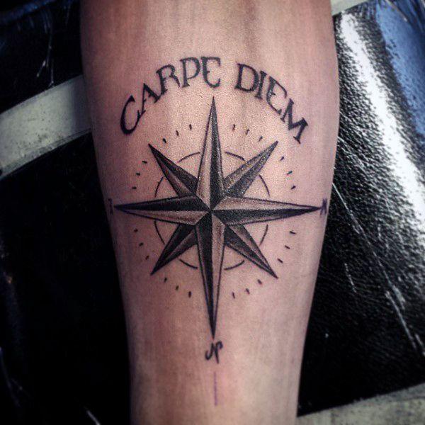 tatuagens nautica carpe diem