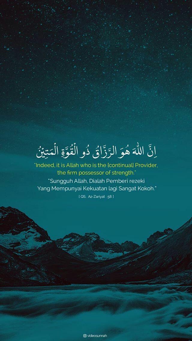 Ayat Alquran Tentang Rezeki : alquran, tentang, rezeki, Allah, Pemberi, Rejeki, Kata-kata, Indah,, Quran,, Kutipan, Agama
