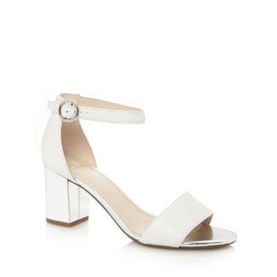 9a2b7f74ca1 Clarks White  Susie Deva  mid sandals- at Debenhams.com