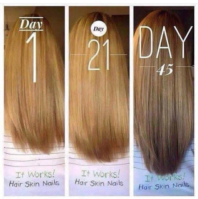 Hair Skin and Nails | It Works! Products | Pinterest