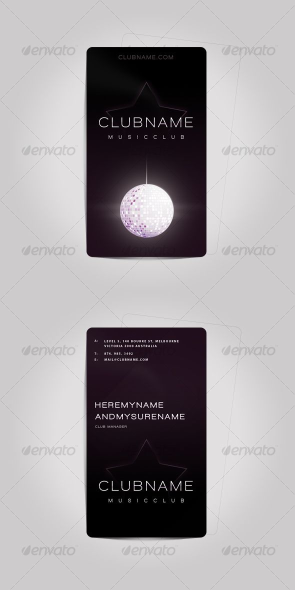 Lovely Music Business Card Template Contemporary - Resume Ideas ...