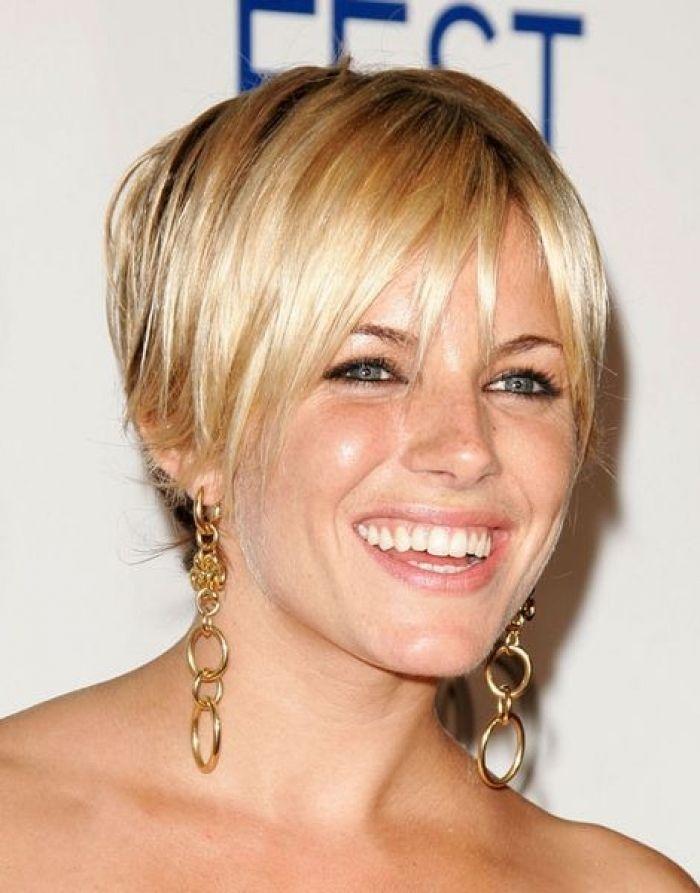 Sienna Miller Short Hair Celebrity Hairstyles Design 470x600 Pixel