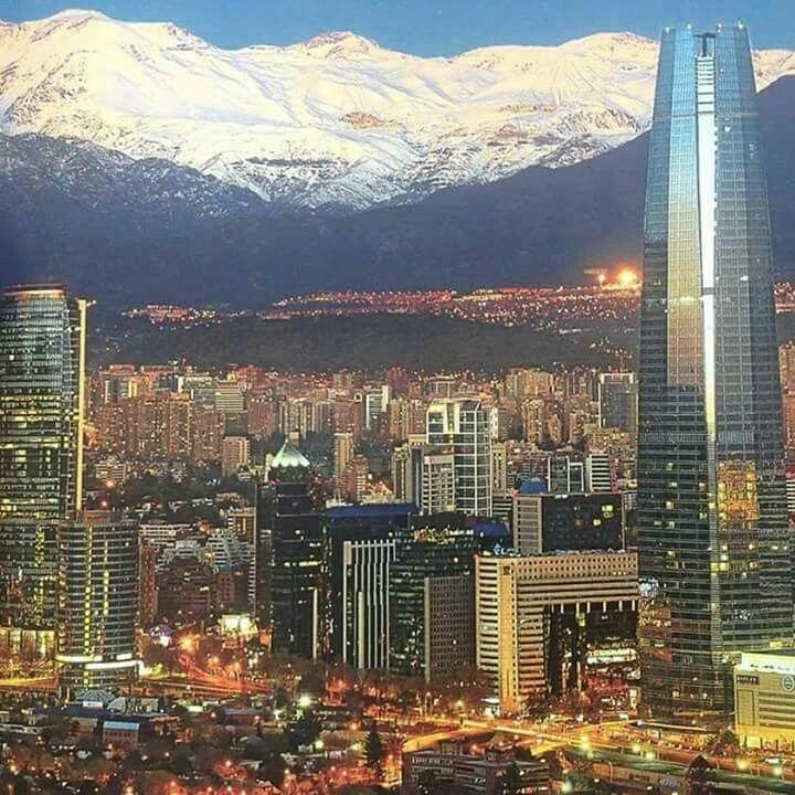 Santiago despus de la lluvia Mayo 2017 Chile  Chile