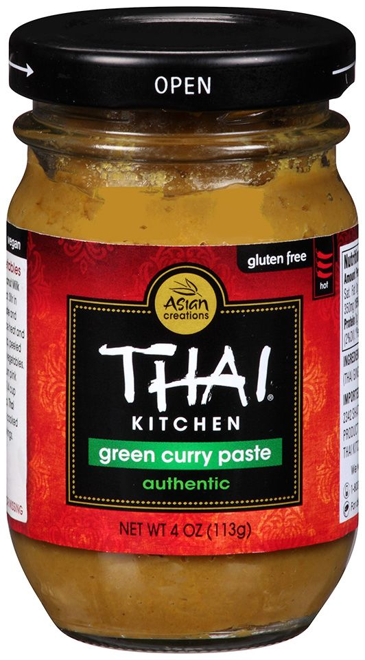 Thai Kitchen: Green Curry Paste Authentic And Gluten Free!