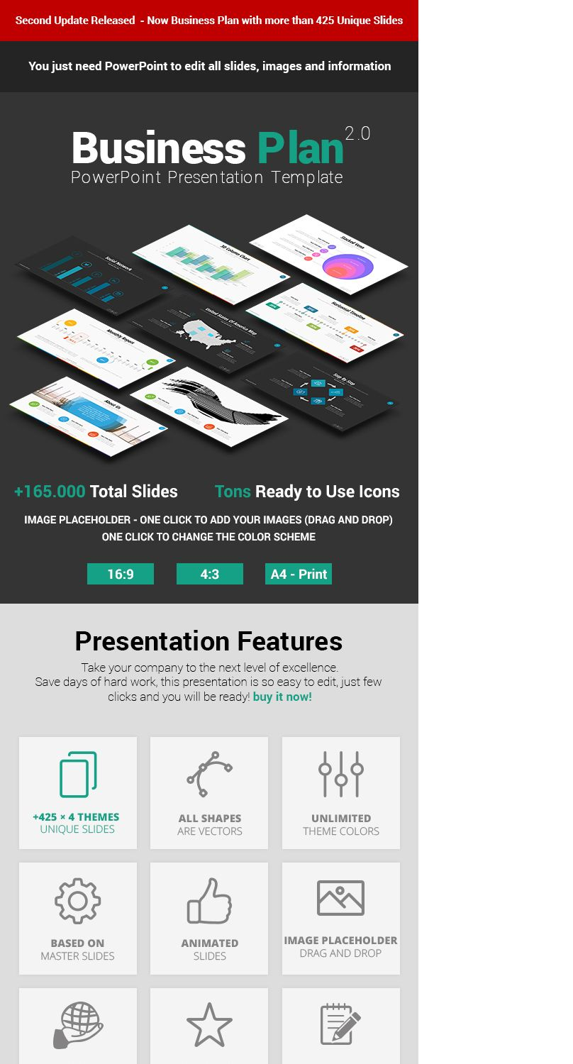 """Check out my @Behance project: """"Business Plan PowerPoint ..."""