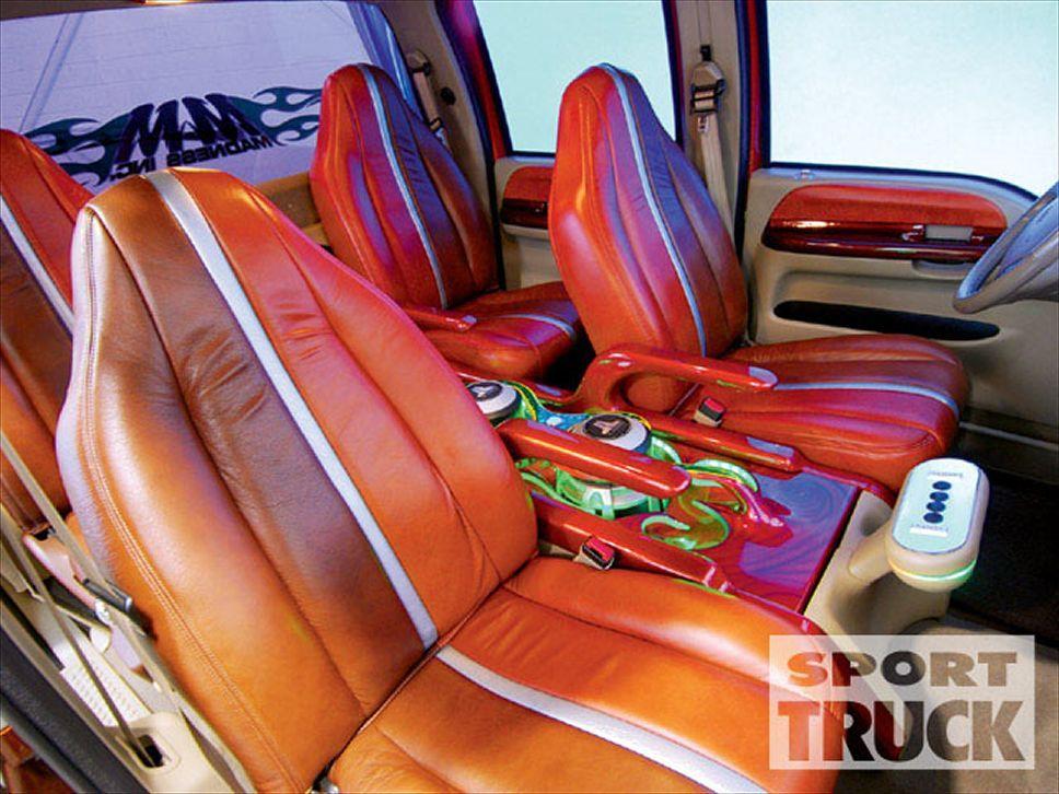 Custom Truck Interiors 2000 Ford F350 Interior