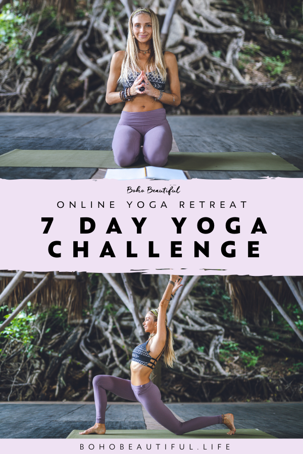 Boho Beautiful Retreat is a virtual yoga retreat to do in the comfort of your own home for 7 days. Y...