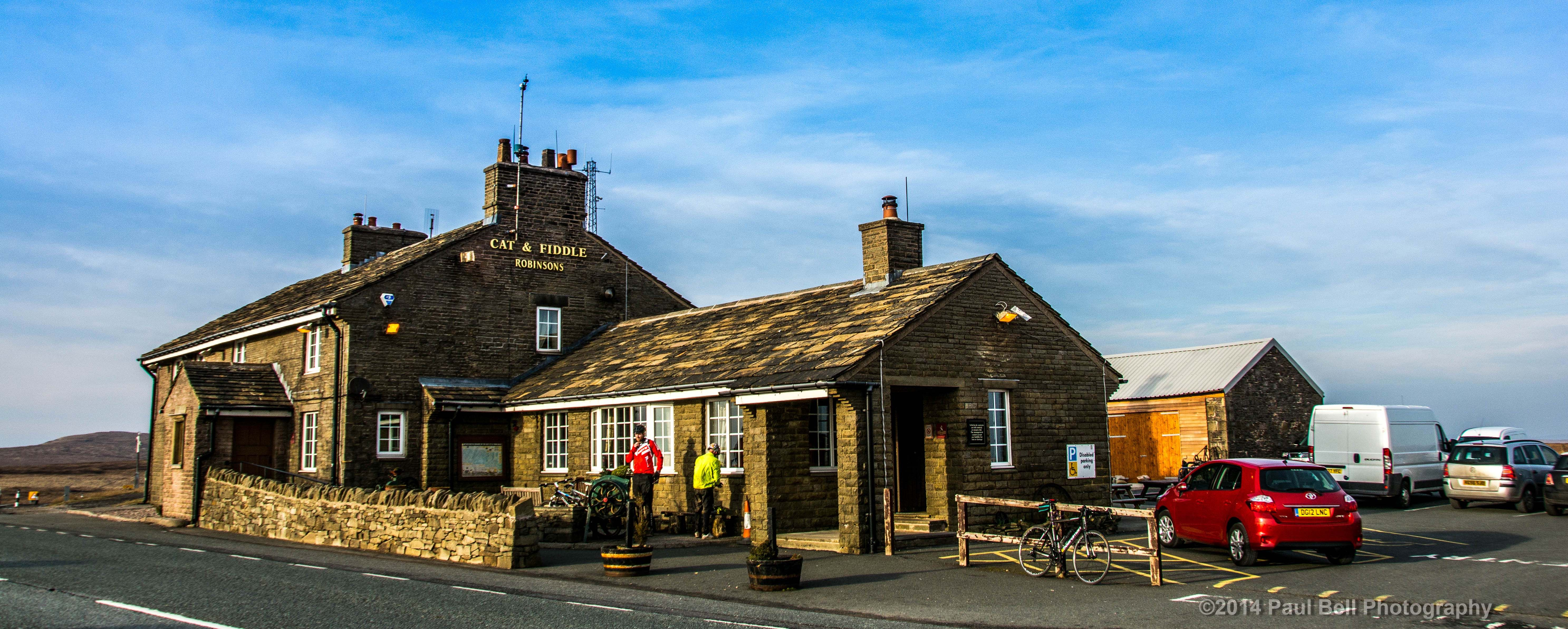 The Cat and Fiddle Pub!! Yipee............... House