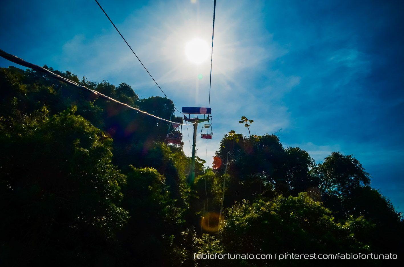 Teleférico de São Vicente - SP - Brasil