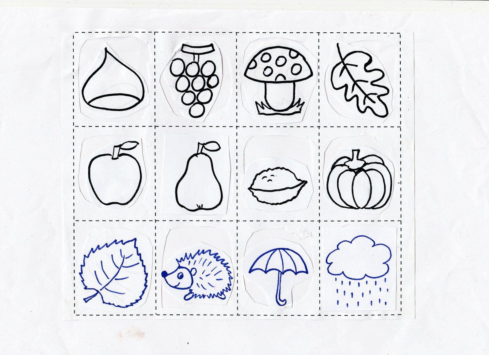 Maestra caterina memory d 39 autunno autunno pinterest for Memory da stampare