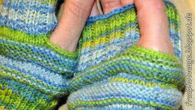 Mojos für die Hände #glovesmadefromsocks