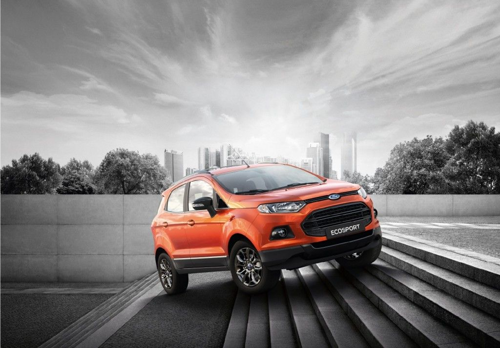 2016 Ford Ecosport Black Edition Introduced In Thailand Ford Ecosport Black Edition Ford