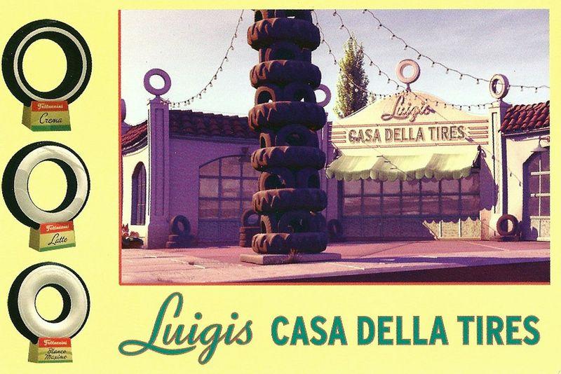 Disney - Cars Land, Radiator Springs, Luigis Casa Della Tires | Flickr - Photo Sharing!