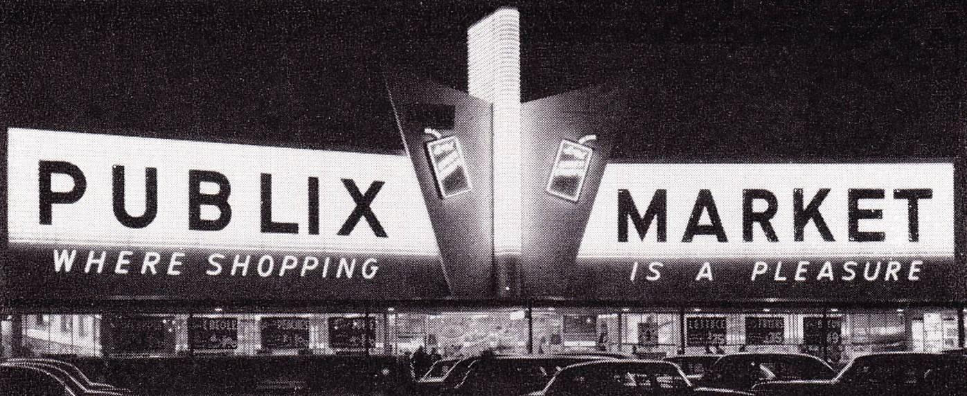 Publix 1959 (With images) Publix, Supermarket, Shopping