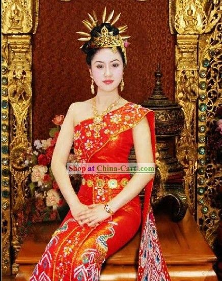 thailand culture | Stunning Traditional Thailand Dress and ...