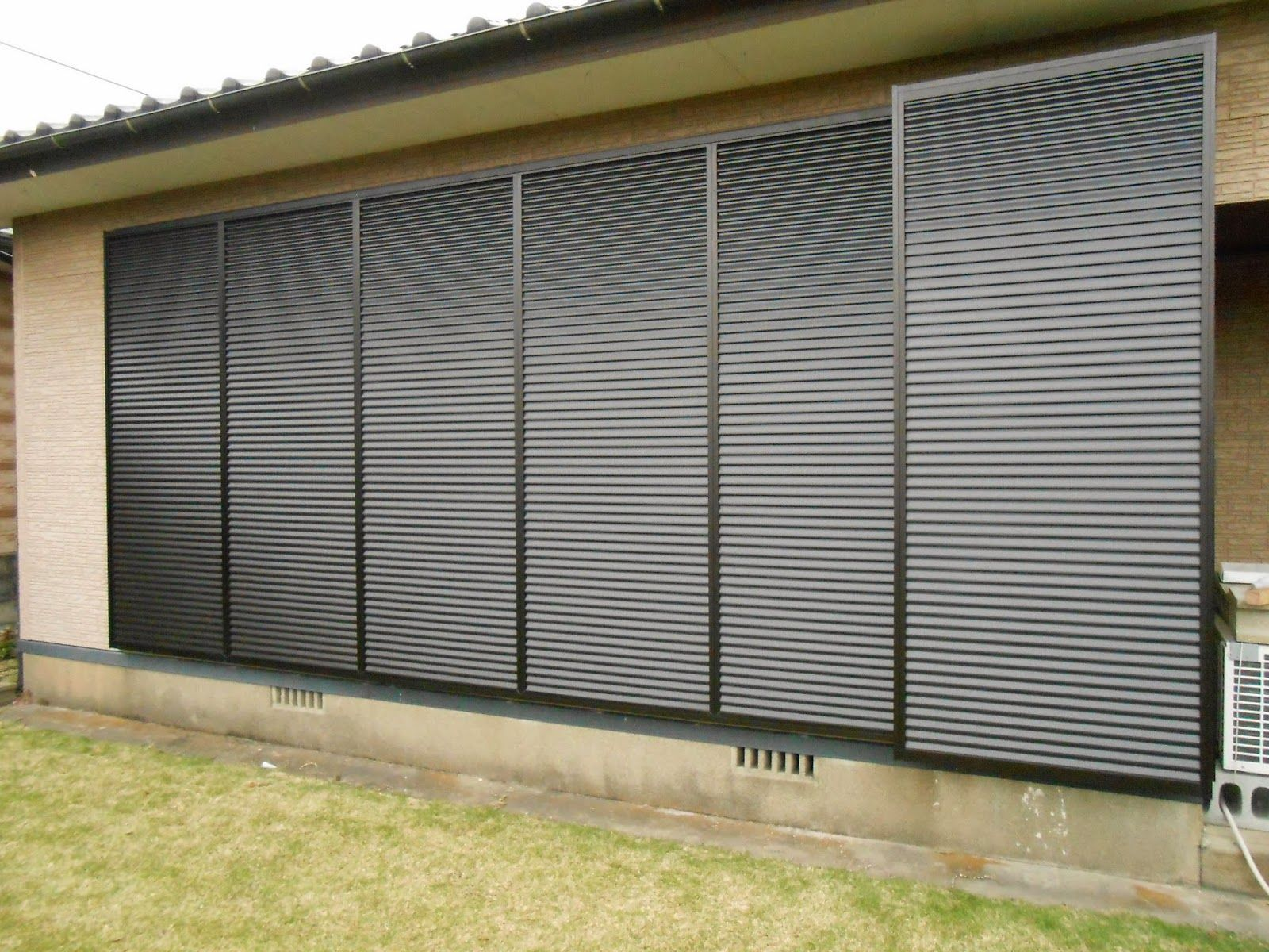A Sliding Shutter Door Protect People In Japan With Images