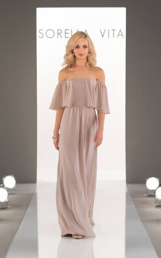 8ba82538f6ed Bridesmaid Dress from Sorella Vita Style 8514 #bridesmaiddress in ...