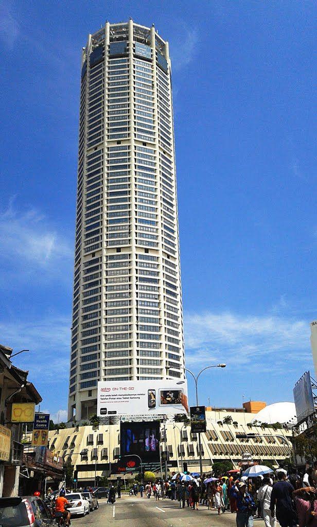Menara Komtar Penang Malaysia 231 7 M 65 Fl Completion 1985