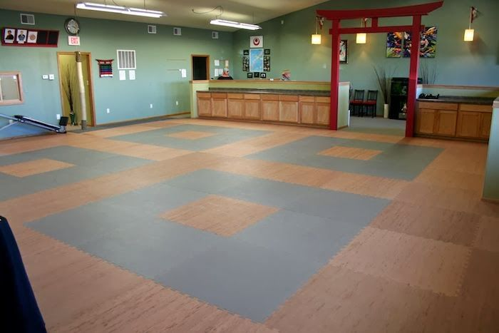 Brian S Of Rice Lake Martial Arts Center In Rice Lake Wi We Purchased The Mats To Use For Covering Our Entire Training Floor We Are Mostly On Dojo Escuela