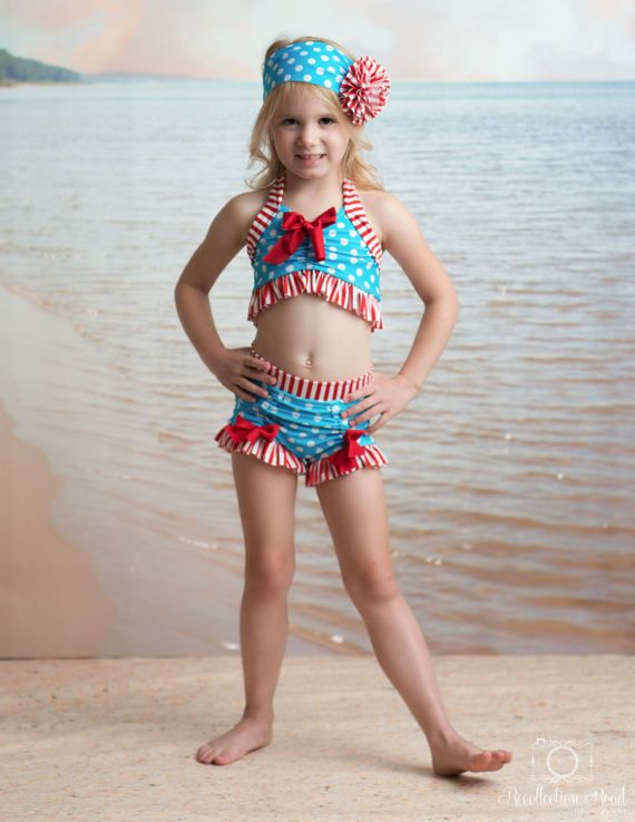 8d25e640631081 Bathing Beauty Bikini in Vintage Boardwalk: SS17 Collection (Size 2-12)  ***MARKDOWN***