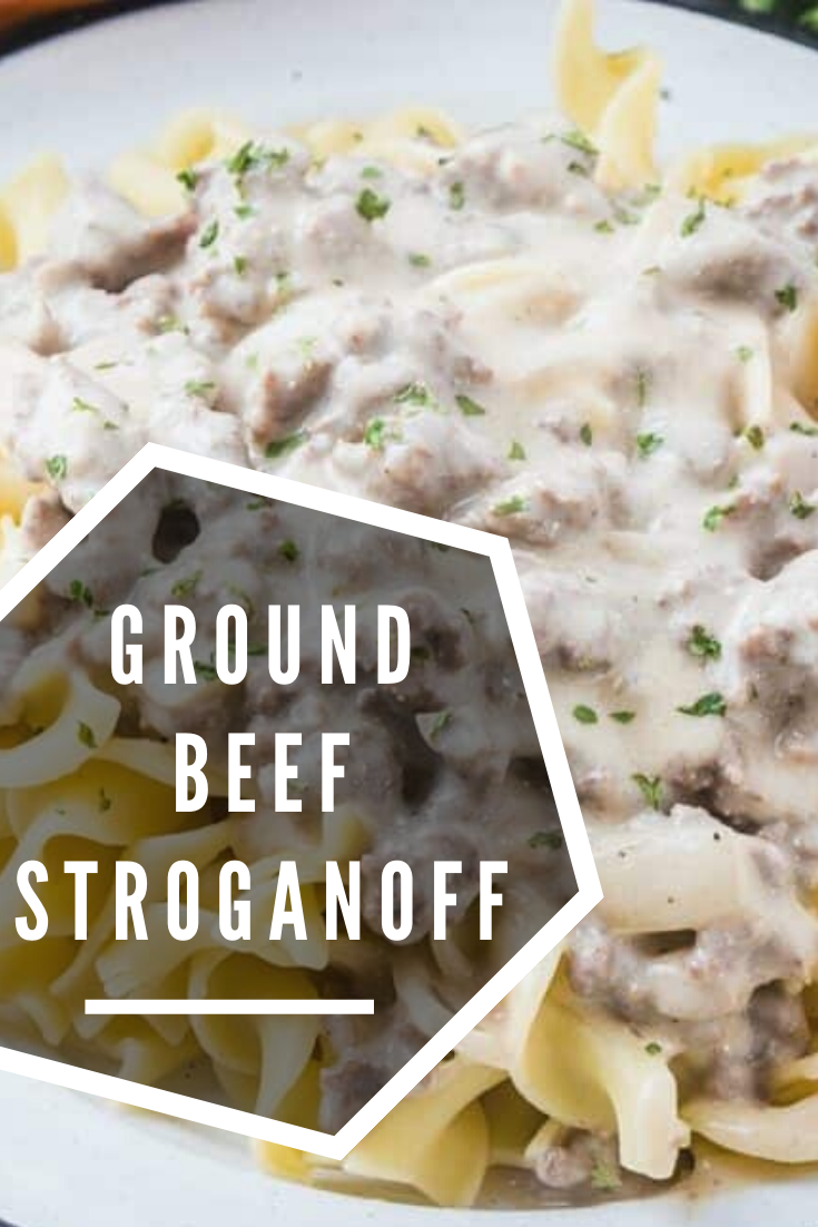 Pin By Kylie Brock On Feed Me In 2020 Ground Beef Stroganoff Ground Beef Recipes Healthy Beef Recipes Easy