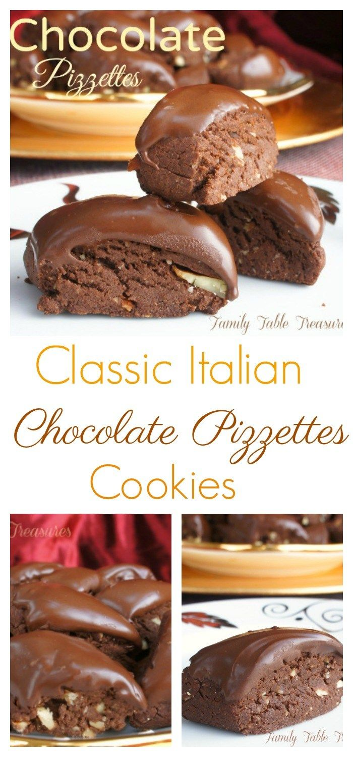Chocolate Pizzettes - Family Table Treasures