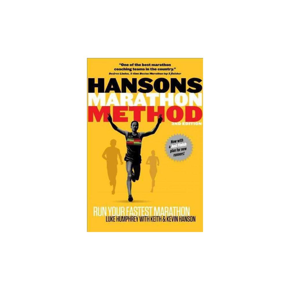 Hansons Marathon Method 2nd Edition Annotated Paperback Hansons Marathon Method Running Books Marathon