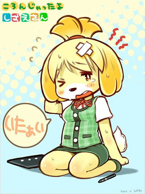 Pin By Lilin On Isabelle Ac Animal Ears Animal Crossing Animals