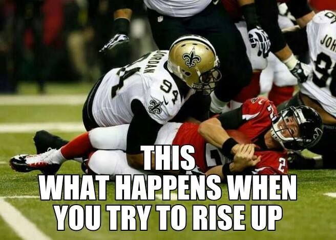 New Orleans Saints Beat The Atlanta Falcons Wd4l New Orleans Saints Football New Orleans Saints Atlanta Falcons Memes