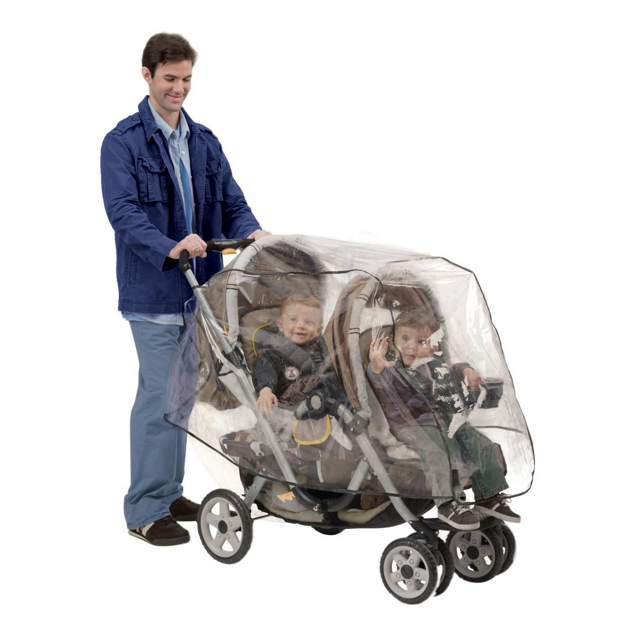 Tandem Stroller Weather Shield for 17.99 Stroller rain