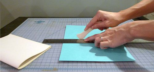 Spoonflower hacks book binding diy handmade home pinterest for the last of our spoonflower hacks diys that use crafting goods in an ususual way elizabeth ramos founder of indie craft parade stops by to solutioingenieria Images