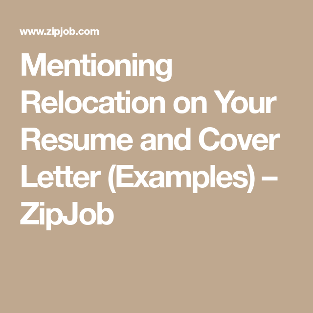 Mention Relocation In Cover Letter from i.pinimg.com