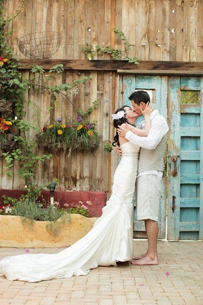 Real Wedding: Arynn & Devron's Garden Elopement | Intimate ...